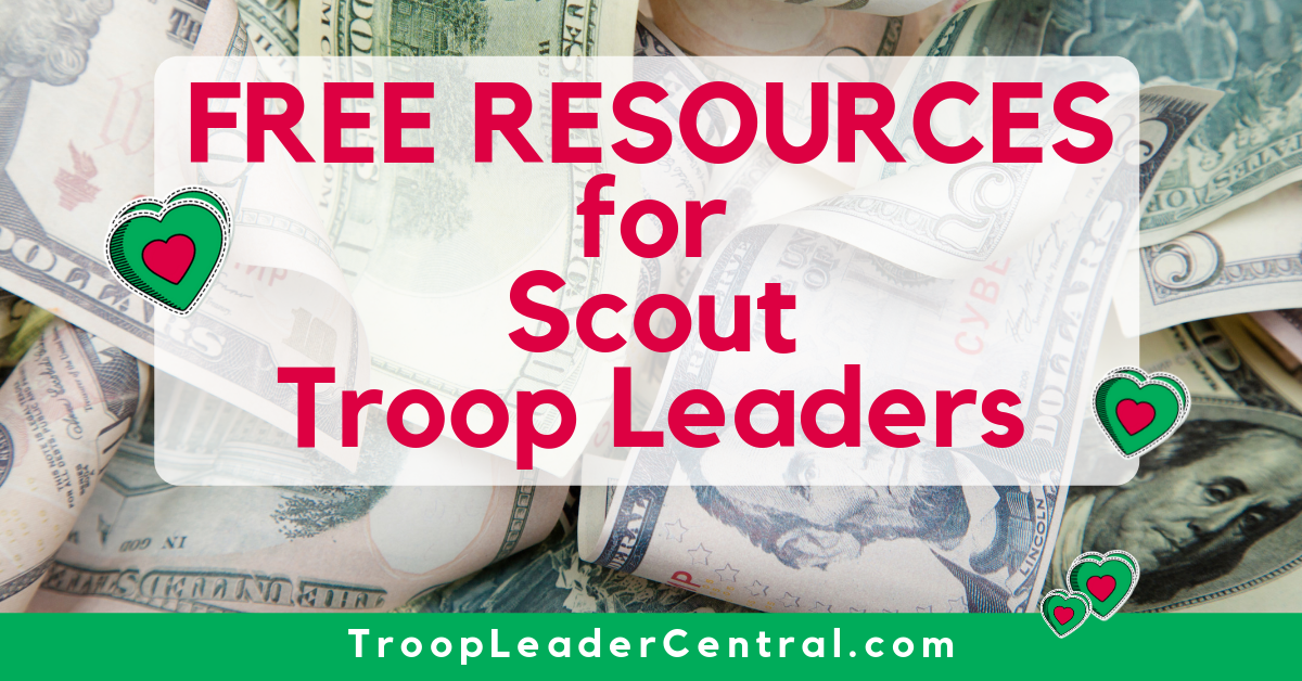Free Resources for Girl Scout Troop Leaders