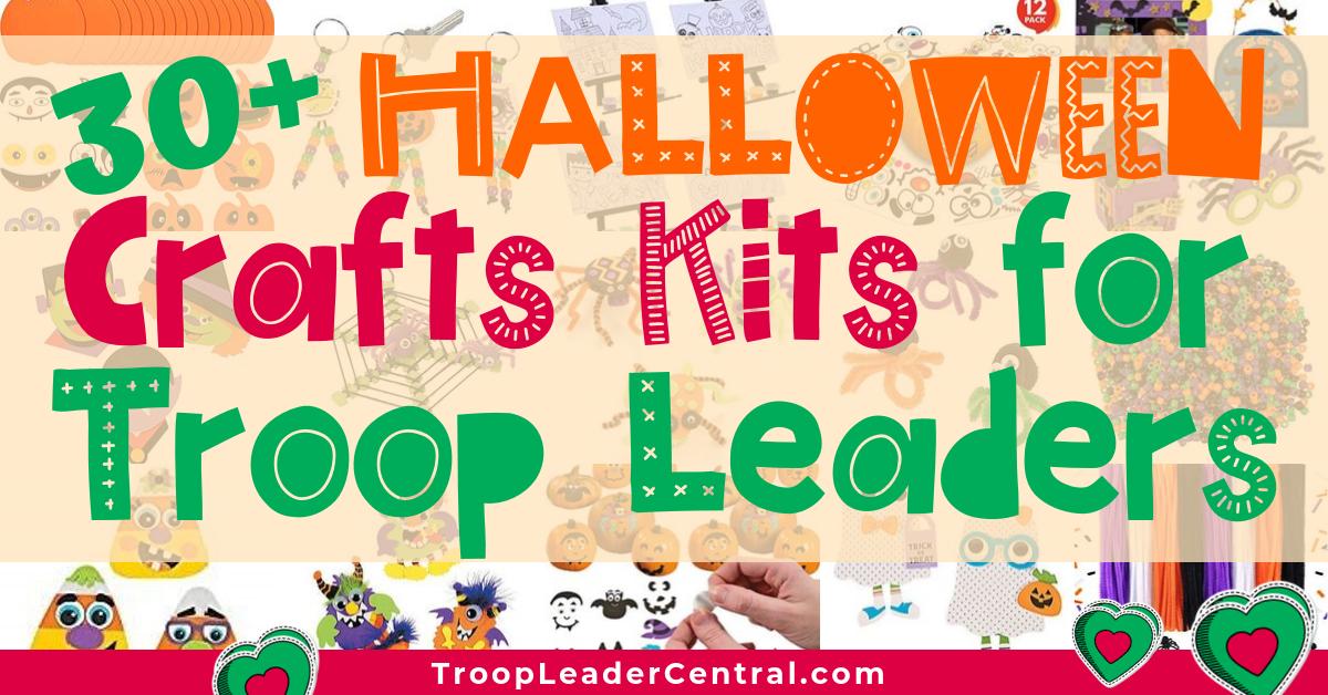 30+ Halloween Craft Kits